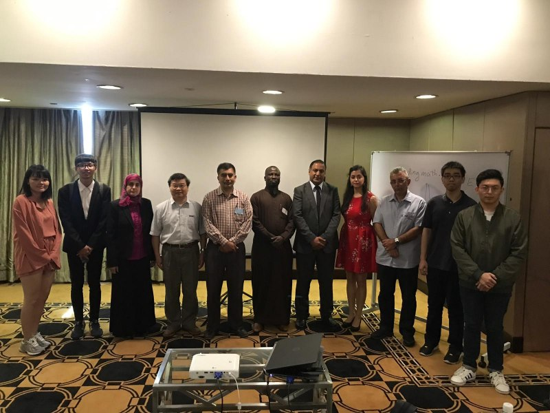 Photos of Applied Mathematics, Modelling and Simulation in Kuala Lumpur #2
